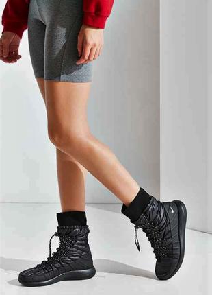 Новые кроссовки на меху nike кроссовки сапоги ботинки найк непромокаемые зима сникербуты