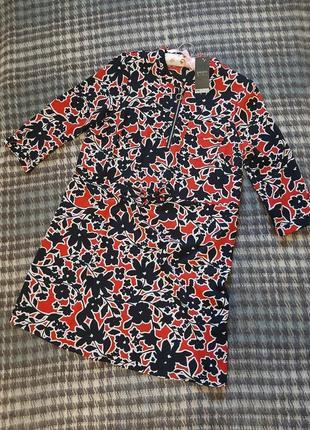 Новое яркое платье в цветочный принт/ плаття/ сукня