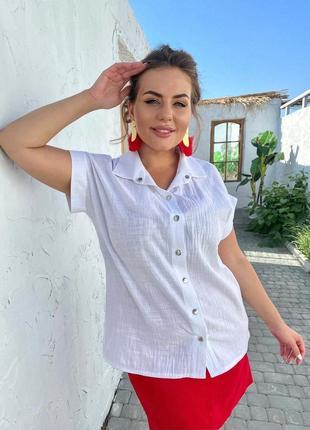 Рубашка легкая (большие размеры, батал)