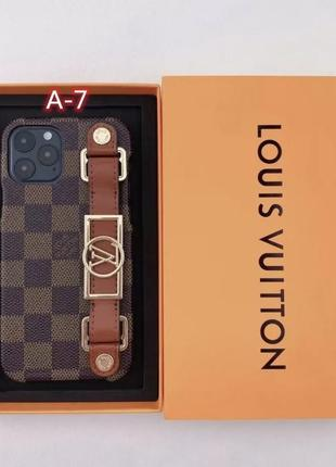 Стильные чехол для iphone все модели , в стиле louis vuitton