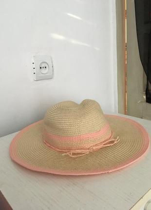 Панама, панамка, шляпа соломенная, шляпа летняя