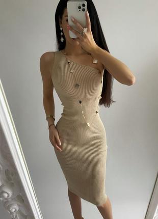Платье-резинка с идеальной посадкой😍