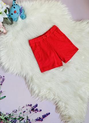 Новые красивые шорты m&s малышке 1-1.5 года