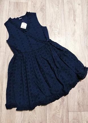 Next платье батистовое сарафан вышиванка zara