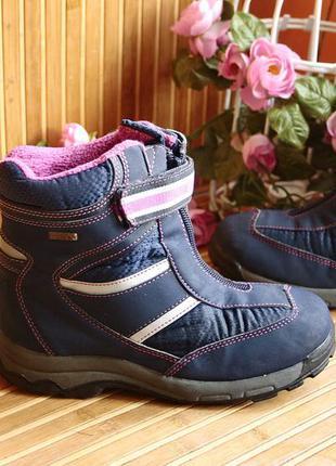 Зимние мембранные термо ботинки сапоги tentex 34р