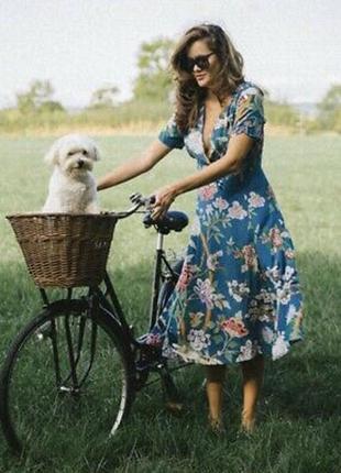 Распродажа натуральное платье h&m gp & j baker миди с asos