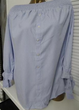 Стильная женская блуза, размер xxl