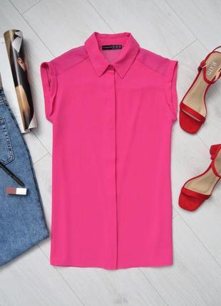 Розовая рубашка спинка на запах