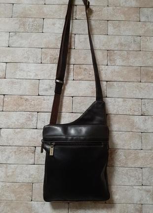 Visconti люкс качество  кожаная сумка