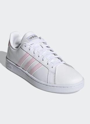 Женские кроссовки adidas grand court (артикул:fy8932)