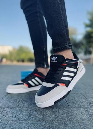 Кроссовки adidas drop step, замшевые мужские кроссовки, чоловічі шкіряні кросівки