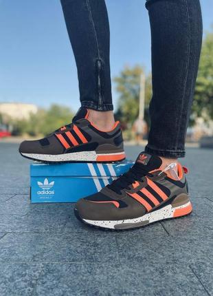 Кроссовки adidas zx 700, кожаные мужские кроссовки, чоловічі шкіряні кросівки