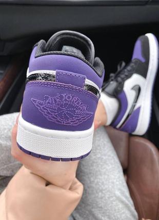 🌸 женские кроссовки nike air jordan 1 retro low6 фото