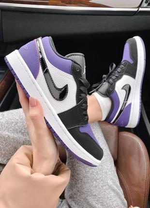 🌸 женские кроссовки nike air jordan 1 retro low