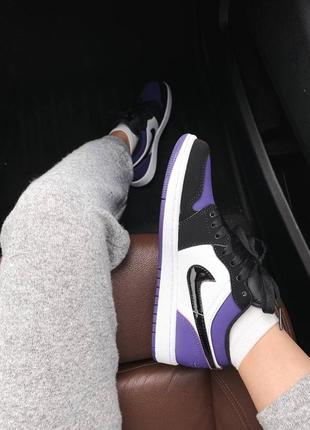🌸 женские кроссовки nike air jordan 1 retro low5 фото