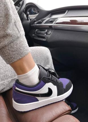 🌸 женские кроссовки nike air jordan 1 retro low4 фото