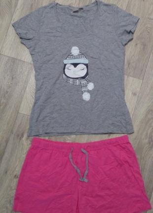 Классная пижама, комплект для дома esmara/marvel р.евро м 40-42 (наш 46-48)