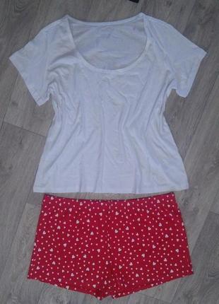 Обалденный нежный комплект для дома, пижама р. евро 48-50 (наш 54-56)