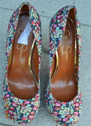 Невероятно красивые и нарядные туфли jessica simpson