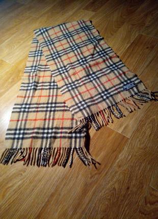 Кашемировый шарф burberrys