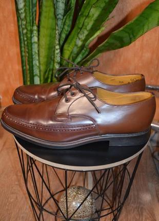 Кожаные туфли 43 размер