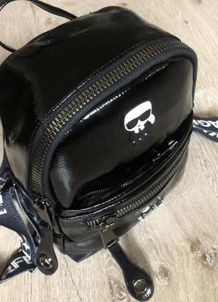 Новый женский рюкзак karl lagerfeld.