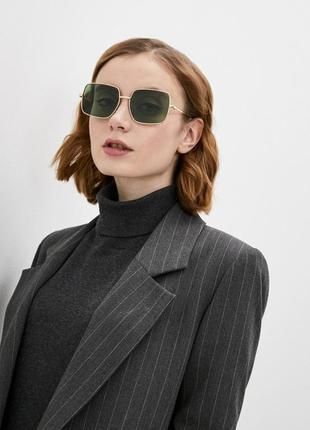 Солнцезащитные очки в квадратной оправе манго