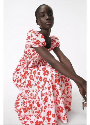 Платье zara зара сукня