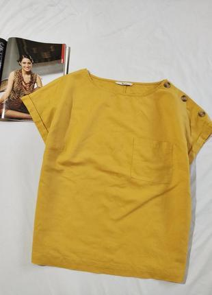 Tu отличная блуза лен вискоза uk 16