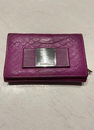 Кожаный кошелёк, портмоне fiorelli