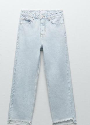 Женские джинсы zara mom, джинси zara mom