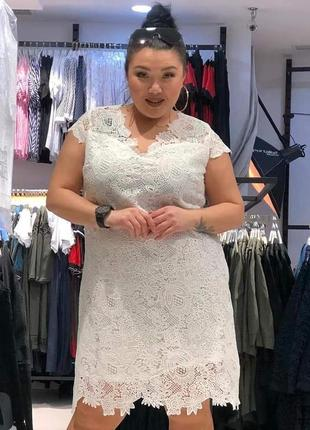 Белое кружевное платье турция 🇹🇷 распродажа