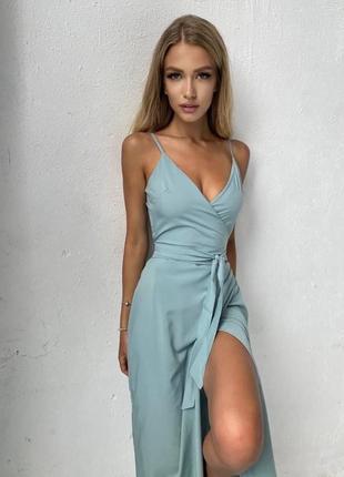 Платье на запах хит