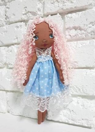 Анжелина авторская кукла текстильная ангел куклы ручной работы