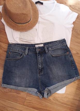 Mango шорты джинсовые