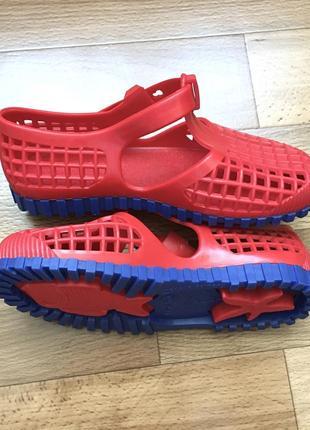 Мягкие сандалии аквашузы босоножки силикон
