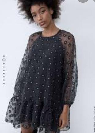 Плаття з органзи