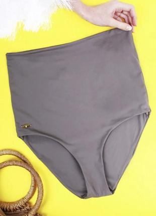 Женские бесшовные плавки  с завышенной талией atlantic / плавки с высокой талией