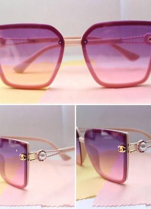 Новые очки розовый лиловый
