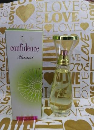 Confidence rasasi женская парфюмированная вода 75мл