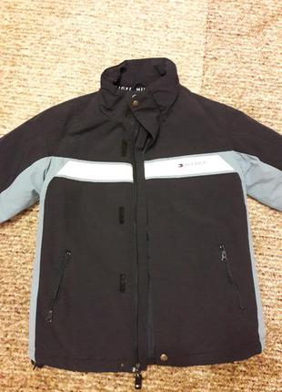 Куртка демисезонная tommy нilfiger, 7-8 лет