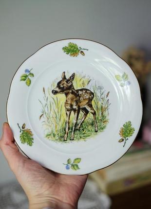 Винтажная тарелка  bavaria германия, посуда фарфор винтаж из европы