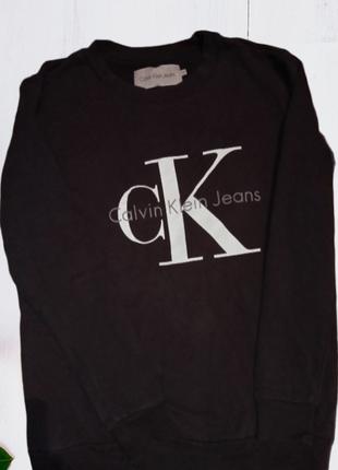 Оригинальный свитшот calvin klein jeans