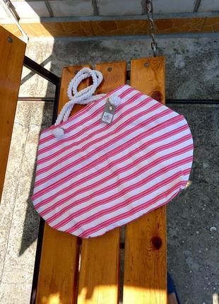 Пляжная сумка большая, шопер, сумка оверсайз