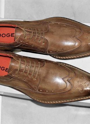 Туфли дерби dogen раз 42 ,ручная работа,производство италия