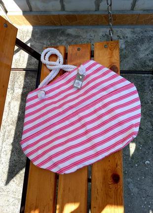 Сумка большая пляжная оверсайз / шопер / сумка на море