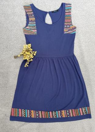 Incity сарафан,поатье в орнамент,летнее платье incity