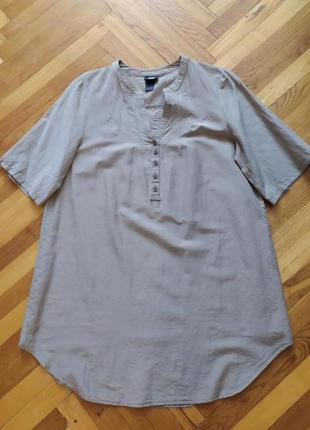 Шовкова натуральна рубашка туніка