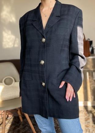 Винтажный пиджак,піджак  versus gianni versace italy оригинал