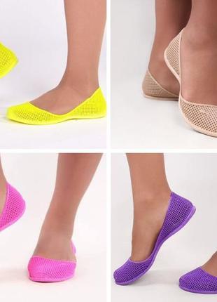 Босоножки мыльницы пляжная обувь силиконовые балетки мыльницы2 фото